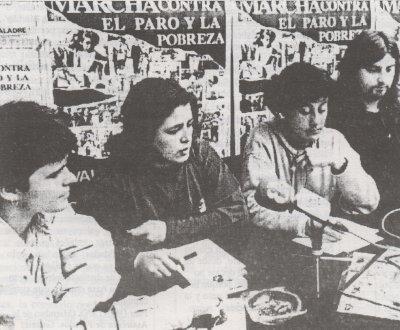 Rueda de Prensa Marcha Bladre 1993